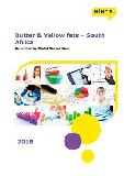 Butter & Yellow fats in South Africa (2018) – Market Sizes
