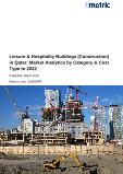 Leisure & Hospitality Buildings (Construction) in Qatar: Market Analytics by Category & Cost Type to 2022
