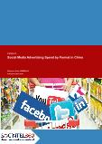 Social Media Advertising Spend by Format in China