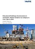 Educational Buildings (Construction) in Azerbaijan: Market Analytics by Category & Cost Type to 2021