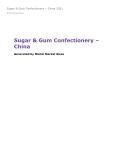 Sugar & Gum Confectionery in China (2019) – Market Sizes