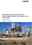 Manufacturing Plants (Construction) in Bahrain: Market Analytics by Category & Cost Type to 2022