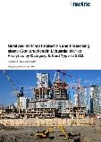 Metal and Material Production and Processing plants (Construction) in Lithuania: Market Analytics by Category & Cost Type to 2021