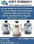 Service Robotics Market and Volume - By Type (Professional Service Robots, Personal and Domestic Service Robots) and Key Players Analysis - Global Forecast to 2022