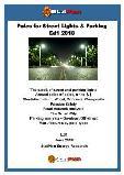 Poles for Street Lights & Parking Ed1 2018