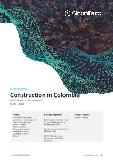 Construction in Colombia - Key Trends and Opportunities to 2025