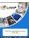 LAMEA 3D Printed Wearables Market By Product Type, By End User, By Country, Industry Analysis and Forecast, 2020 - 2026